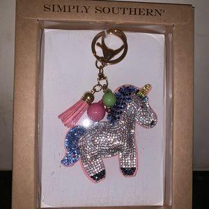 NEW Unicorn Key Fob/Bag Charm